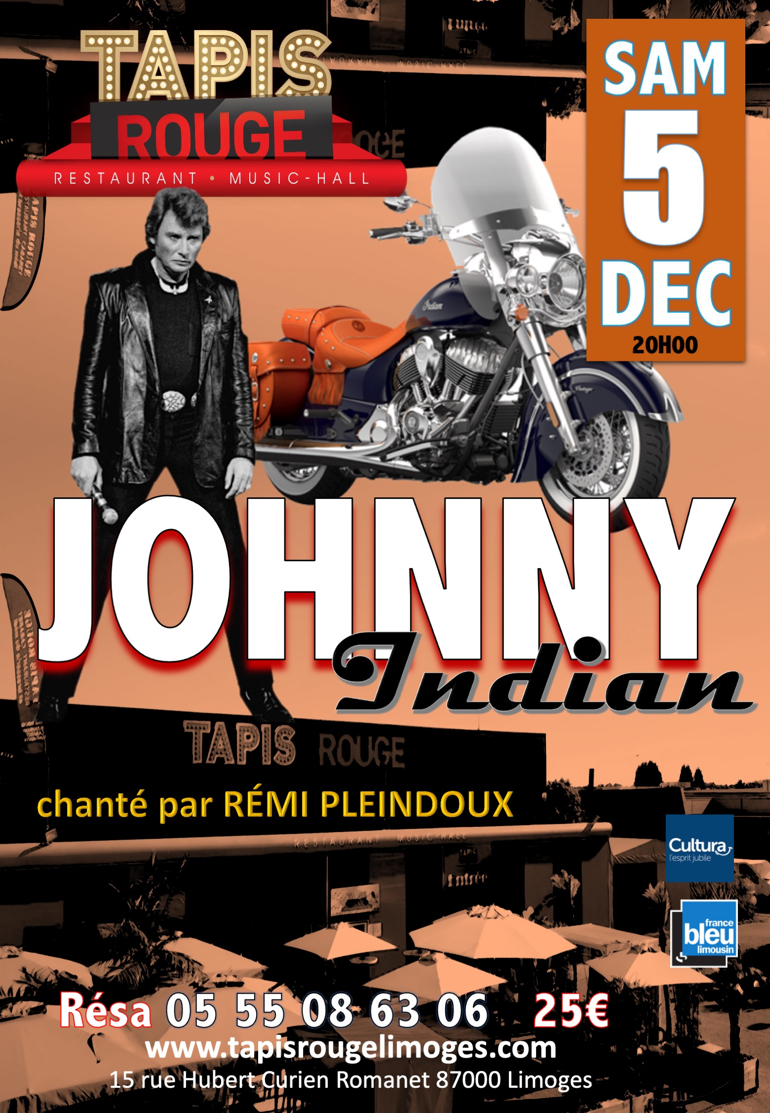 AFFICHE JOHNNY 2020
