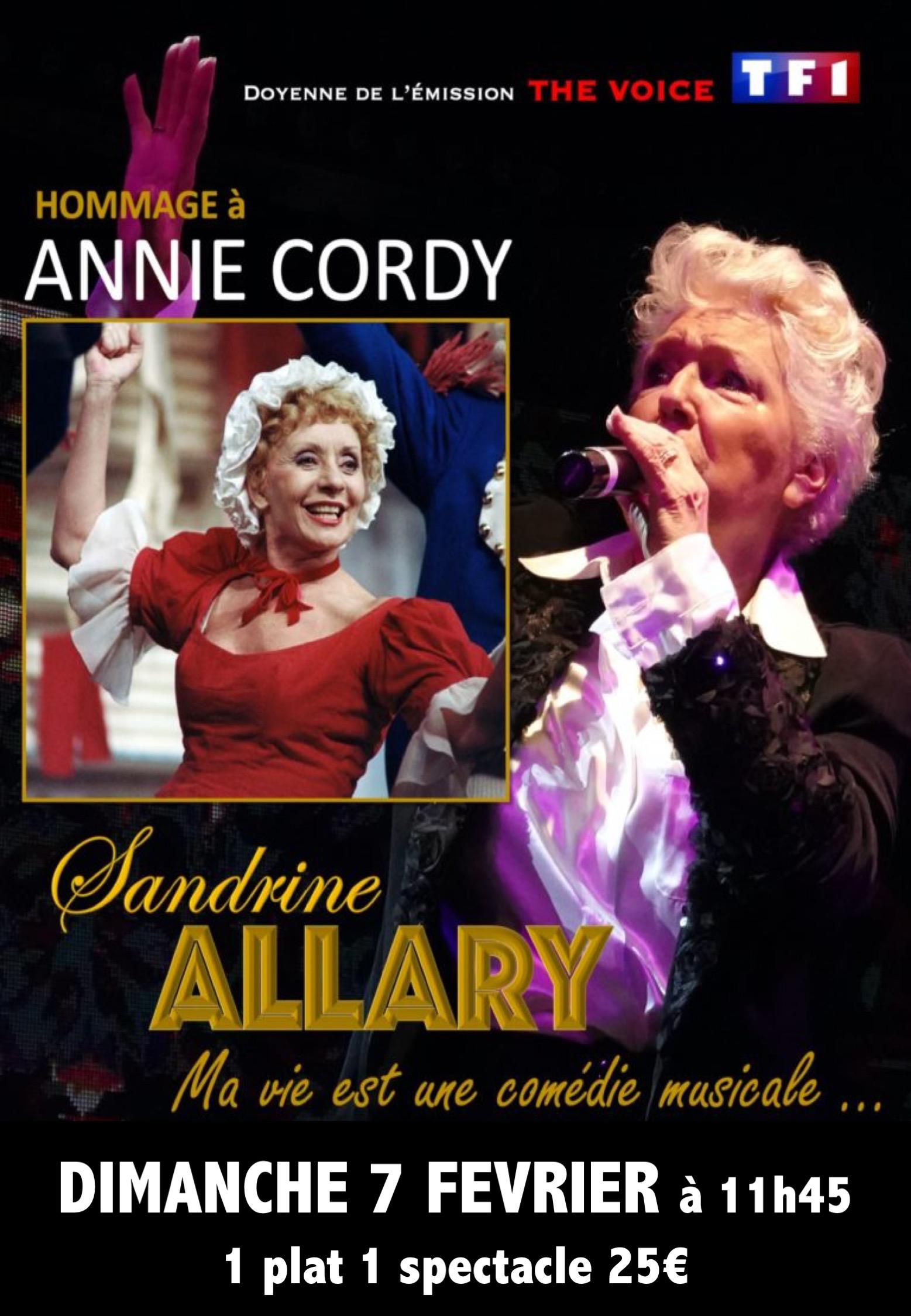 AFFICHE ANNIE CORDY