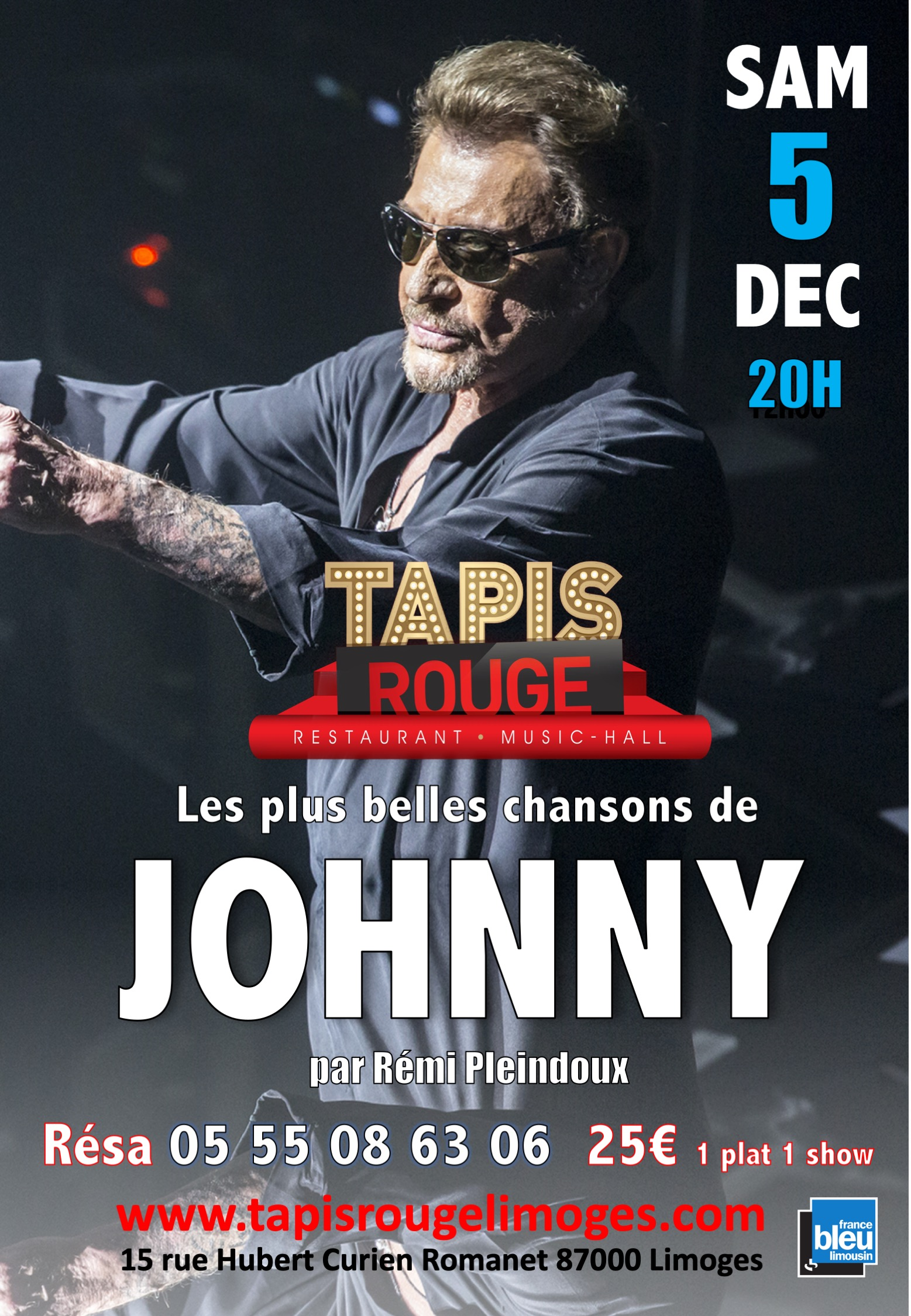 AFFICHE JOHNNY